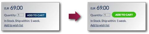 il design del pulsante di una cta è determinante per attirare gli utenti