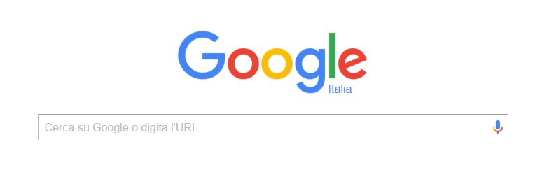 La Call to Action più eseguita: Cerca con Google