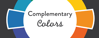 esempio di colori opposti, arancio e blu