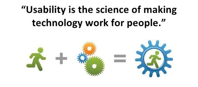 l'usabilità è quell'insieme di regole del buon senso che aiutano la tecnologia ad essere un supporto gli utenti nel raggiungimento dei loro bisogni