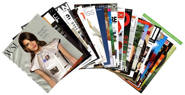 i magazine come spunto per i titoli