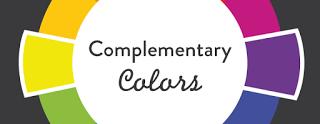 esempio di colori opposti: giallo e porpora
