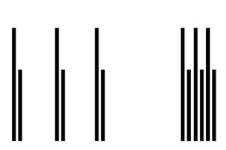 esempio di spazio usato per raggruppare elementi vicini